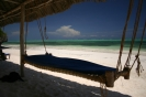 Zanzibar Shooting Star Lodge beach bed